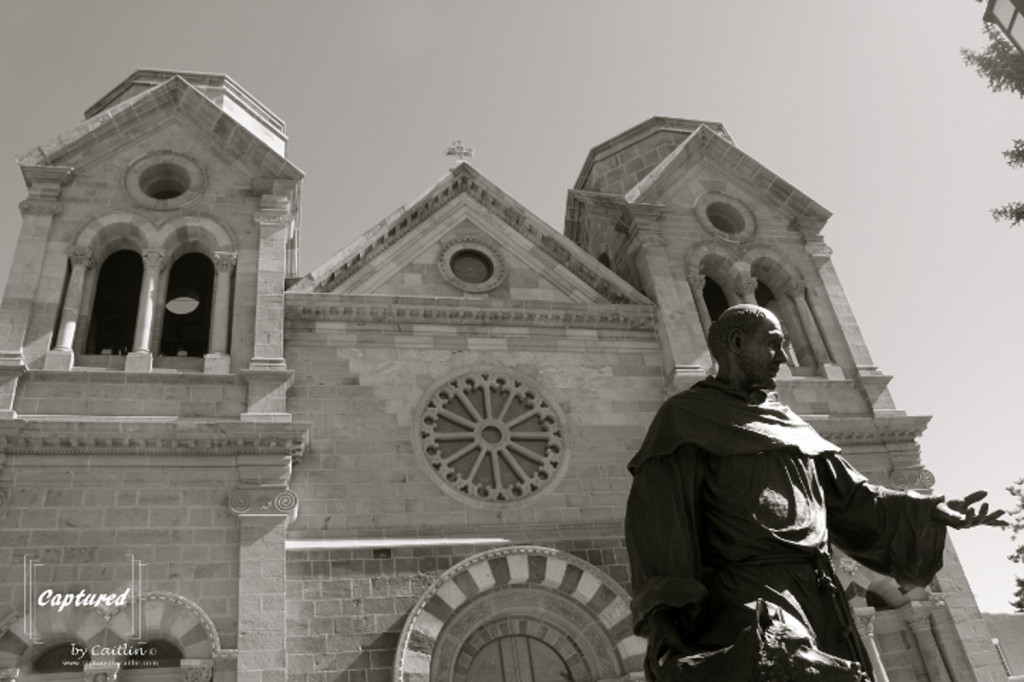The Cathedral Basilica of St. Francis of Assisi, Santa Fe, New Mexico